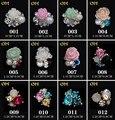Moda 3d liga Nail art, 20 pçs/lote strass Glitter decoração de unhas, Cristal unha jóias, Material de acessórios