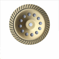 7 Inch Soft Bond Diamond Segment Grinding Cup Wheel For Ceramic Cement Or Concrete