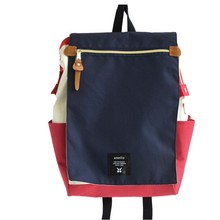 Anello mochila escolar más alta anillo de impresión de la lona del paquete bolsas de marca de las mujeres jóvenes hombres y mujeres mochila paquete de computadora