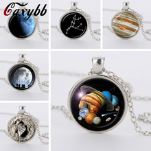 I want to believe Jewelry Alien pendant sci fi UFO Glass Cabochon Necklace for Geek Abductee Jewelrys CN5873-579