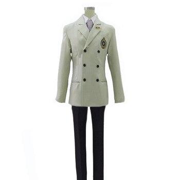 Darmowa wysyłka Persona 5 P5 Goro Akechi mundurek szkolny garnitur przebranie na karnawał strój dostosuj