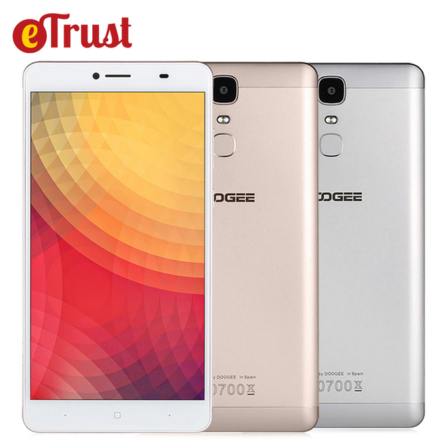Doogee Y6 Max 6.5 Inch FHD Mobile Phone MTK6750 Octa Core Android 6.0 3GB RAM 32GB ROM 13MP 4300mAh Fingerprint ID 4G Smartphone