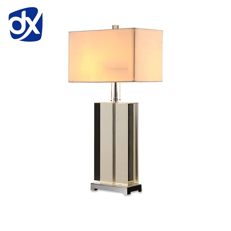 Led Table Lamps Led Lamps Luxury Modern Table Lamp Crystal Table Lamp Fabric Lampshade Living Room Abajur Table Lamp For Bedroom Lamparas De Mesa Soft And Antislippery