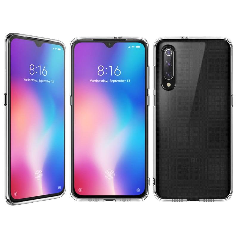 Case For Xiaomi MI 9,MI 9 SE Ultra-thin Clear Transparent Soft TPU Case Shock Absorbing Flexible Back Cover For Xiaomi Mi9 Case
