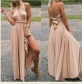 Summer Spring lady style sexy women maxi dress bandage long dress Variety robe Dresses LSQ-88-41