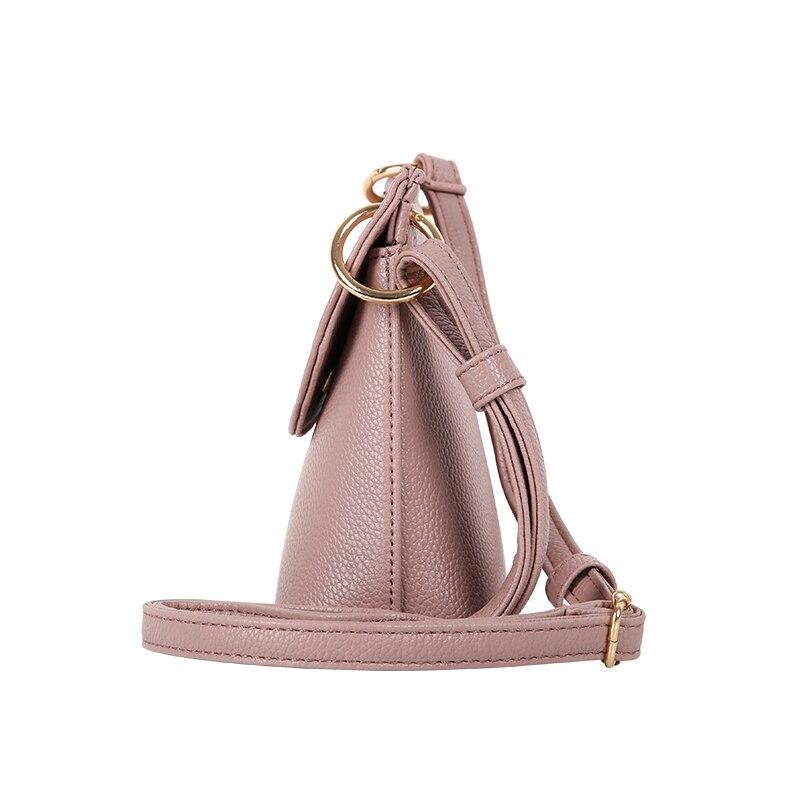 YBYT varumärke 2018 nya högkvalitativa mjuka kvinnor skal väska - Handväskor - Foto 4