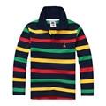 Fashion Brand Top Quality Children Boy T-shirt Kids Clothing Top Long Sleeve Cotton Striped Children's T-shirts 2-14 Years