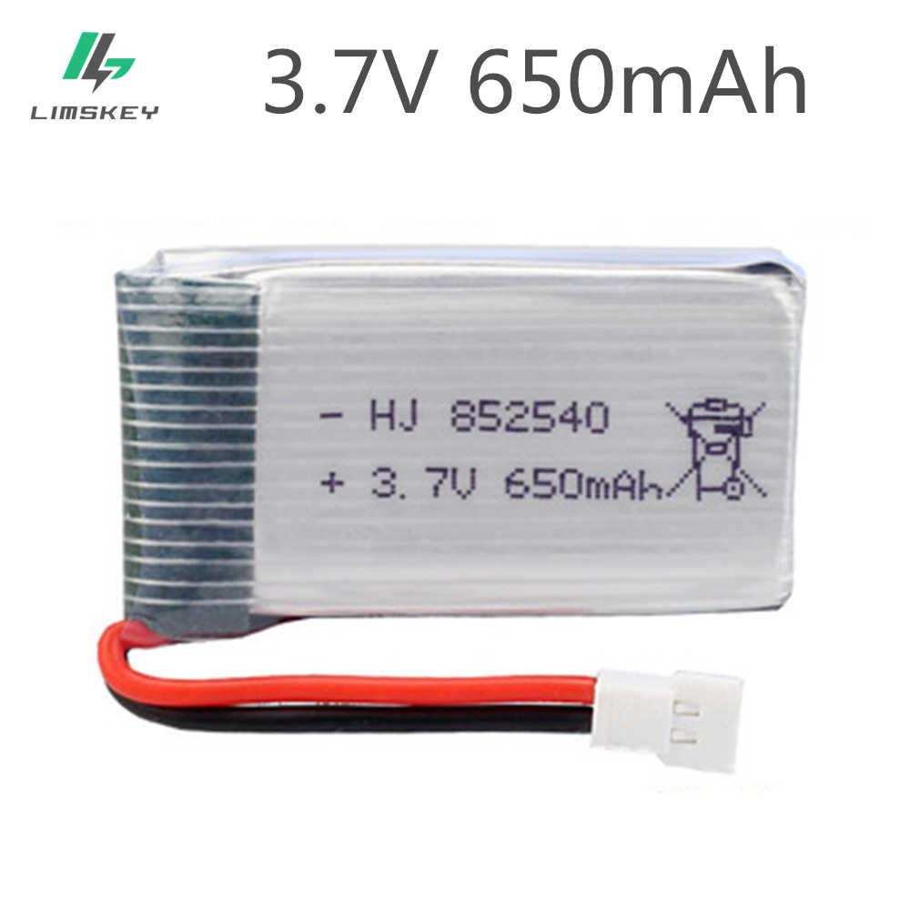 3.7V 650mAh 30C リポバッテリー Syma の X5C-1 X5C X5 X5SC X5SW X6SW H9D H5C LiDiRC L15FW RC ドローン部品