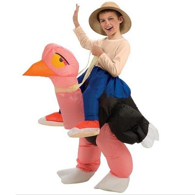 Carnaval Kostuum Kind.Us 29 8 Halloween Kostuum Voor Kids Kinderen Struisvogel Opblaasbare Kostuum Vakantie Decoraties Grappige Carnaval Kostuums Kinderen Kostuums In