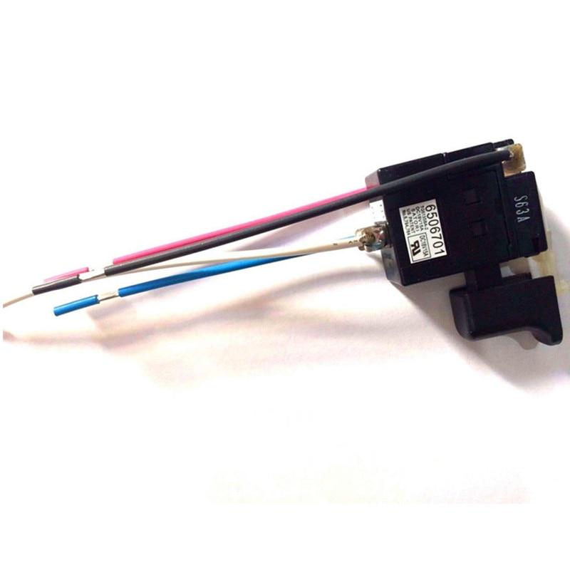 Switch 650670-1 6506701 for Makita DFR450ZX DFR750Z DFR750RME DFR550Z DFR550RMJ DFR540Z DFR540RFE BJS130Z BFS450Z BFS450RFE rme fireface 802