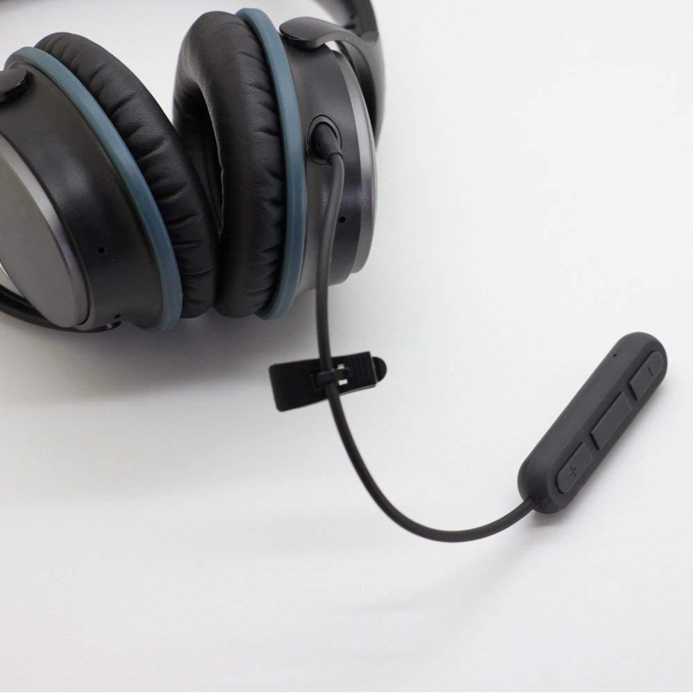 Bluetooth V4.1 stereo Audio Adapter A2dp Music receiver for Bose QuietComfort 25 Headphones QC25 handsfree наушники bluetooth bose quietcomfort 35 ii wireless headphones black