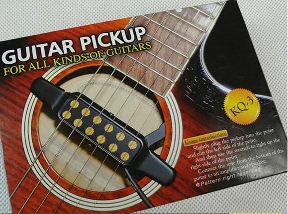 Free Shipping New Kq 3 Folk Acoustic Guitar Pickups External