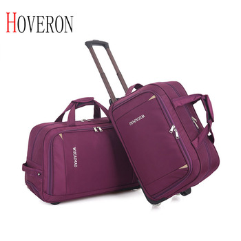 Fashion Women Trolley Luggage Rolling Suitcase Brand Casual Thickening Rolling Case Travel Bag on Wheels Luggage Suitcase cabin letrend korean trolley cute pink suitcase wheels cosmetic case women vintage leather travel bag retro password box cabin luggage