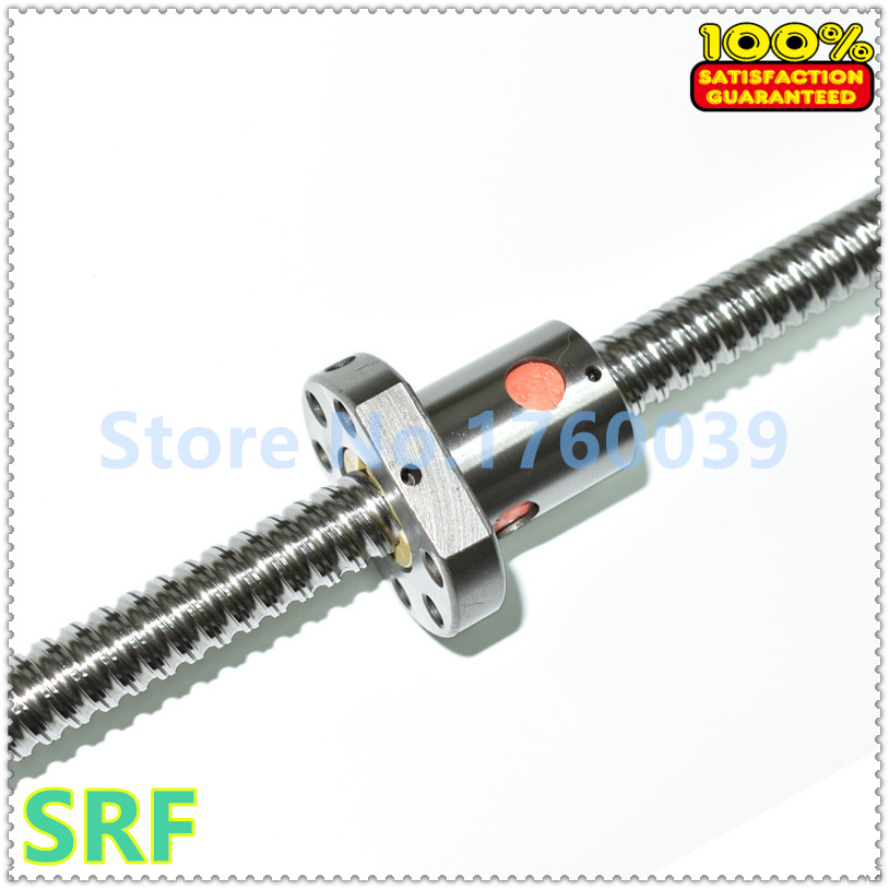 1pcs 16mm  Ballscrew Rolled Ball Screw SFU1604 L=850mm/1150mm +2pcs 1604 Flange single ballnut  with BK/BF12 end machined купить