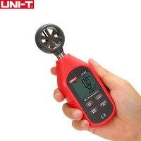 UNI T UT363 Handheld Anemometer Digital Wind Speed Measurement Temperature Tester LCD Display Air Flow Speed Wind Meter