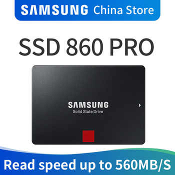 SAMSUNG SSD 860 PRO 256GB 512GB Internal Solid State Disk HDD Hard Drive SATA 3 2.5 HHD for Laptop Desktop PC 1TB 2TB 4TB - DISCOUNT ITEM  50% OFF All Category