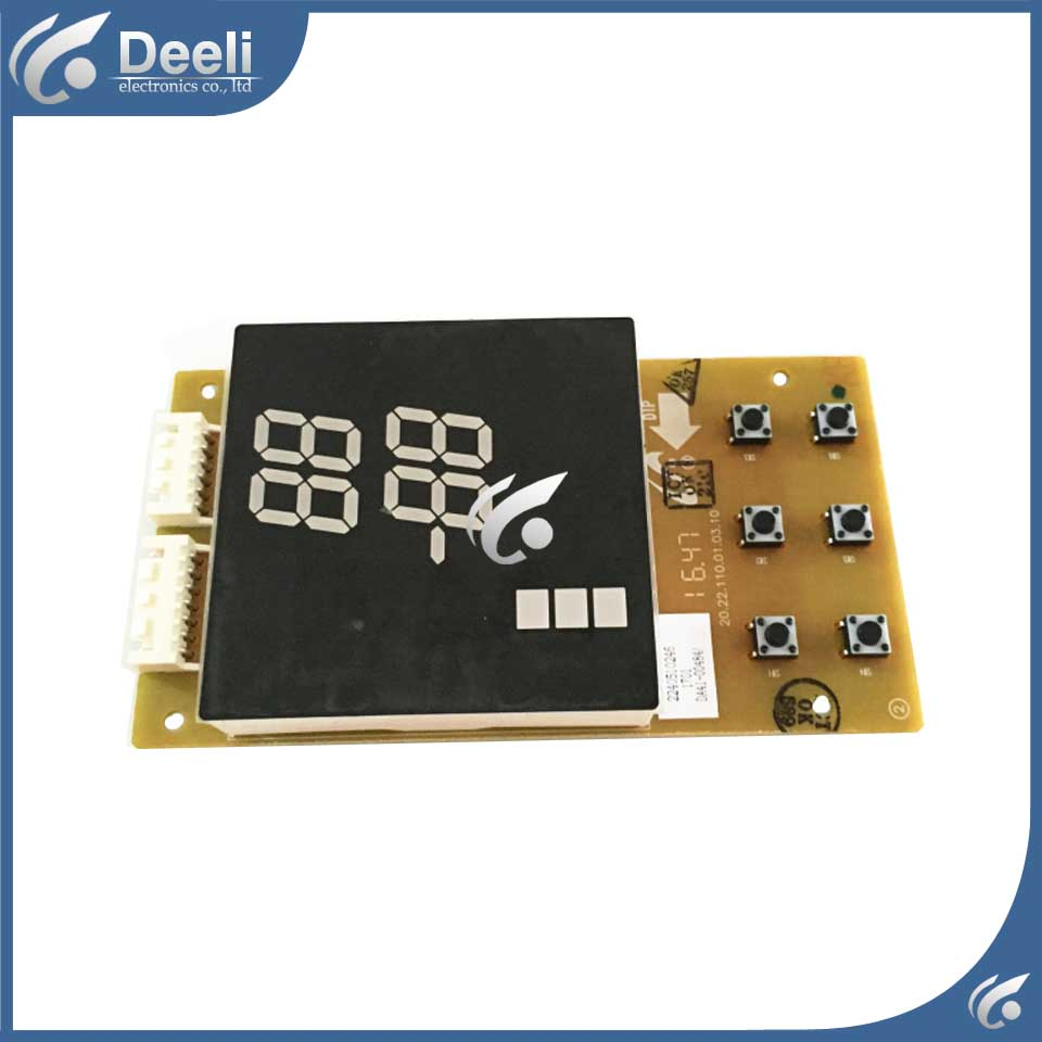 for refrigerator pc board Computer board BCD-285/256 display board DA41-00484A 95% new for haier refrigerator computer board circuit board bcd 198k 0064000619 driver board good working