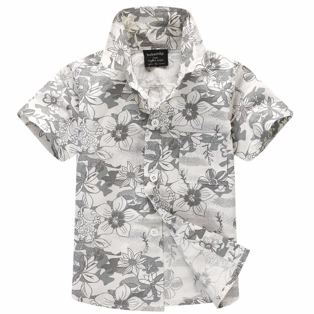 2015. gada jaunā kokvilnas ievešana 100% ziedu krekls hawaiian krekls aloha krekls zēnam T1527