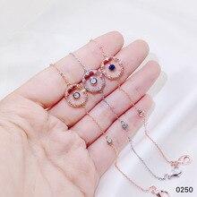 TSHOU57 розовое золото набор колец с цирконом Япония и Южная Корея холодный свет модные украшения женские ювелирные изделия