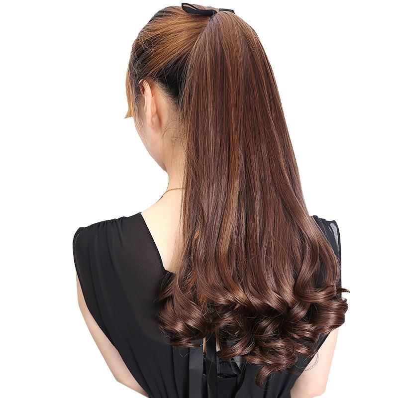 shangke long wavy ponytail women