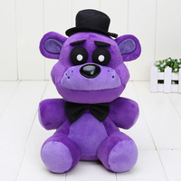 40pcs/lot 25cm FNAF Plush Toys Five Nights At Freddy's Plush Purple Bear Five Nights At Freddy Fazbear Stuffed Toy Kids Toys