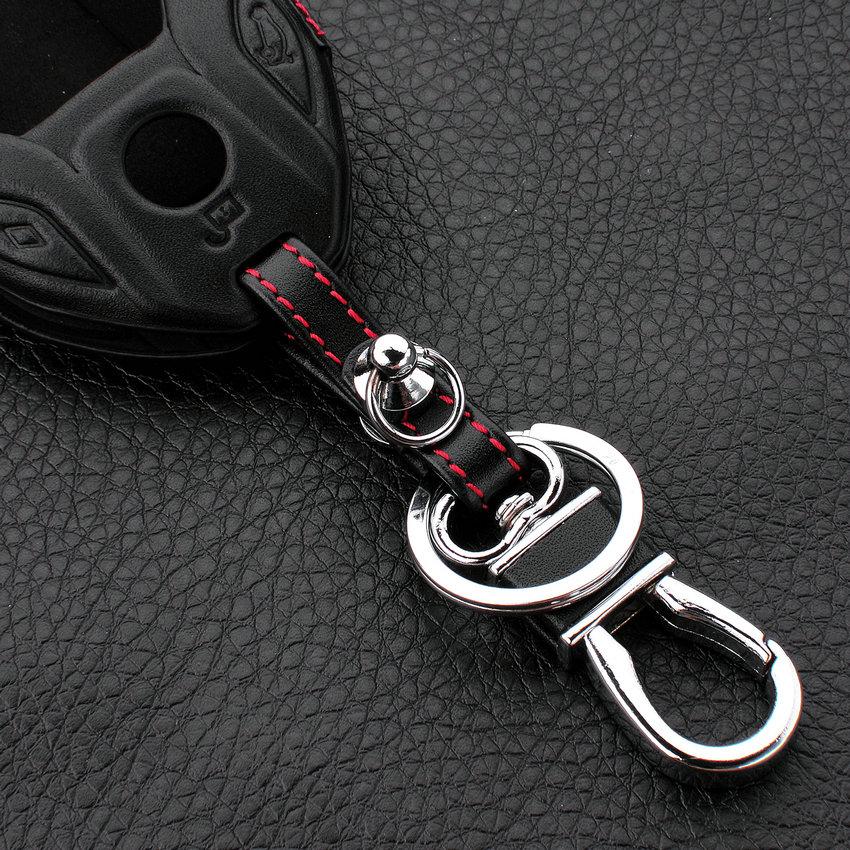 Bmw 7er g11 g12-cubierta protectora-llaves del coche clave funda-cromo azul rojo