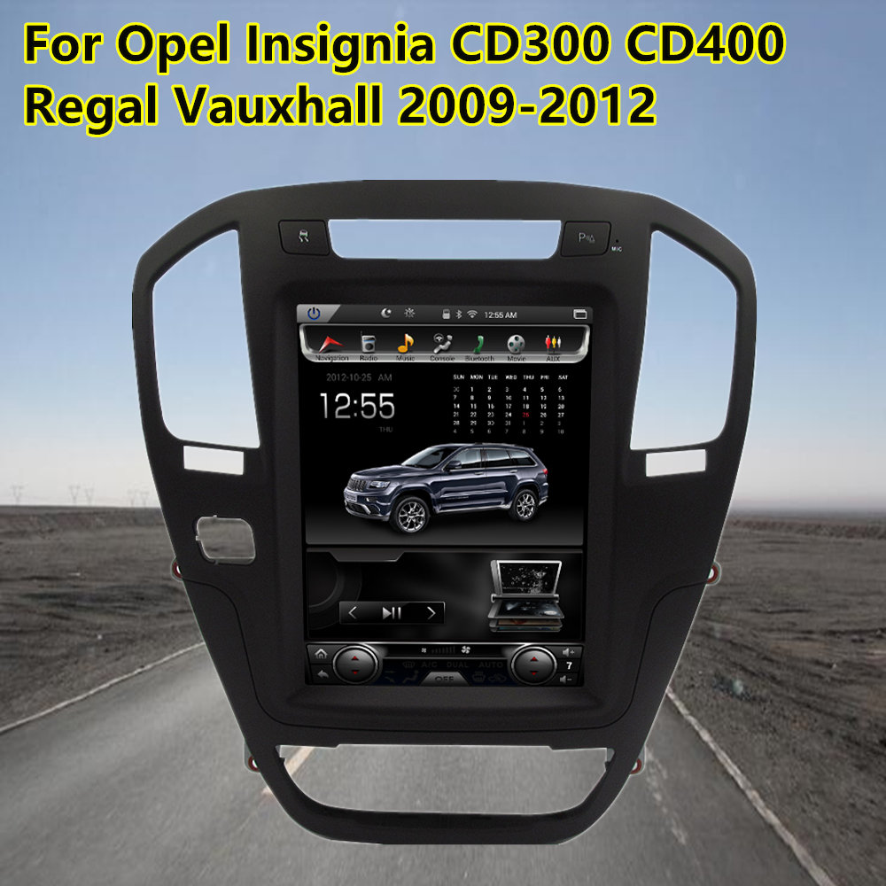 10.4Touch Screen Android Car GPS Navigation Multimedia Stereo For Opel Insignia CD300 CD400 Regal Vauxhall 2009-2012 Auto Radio