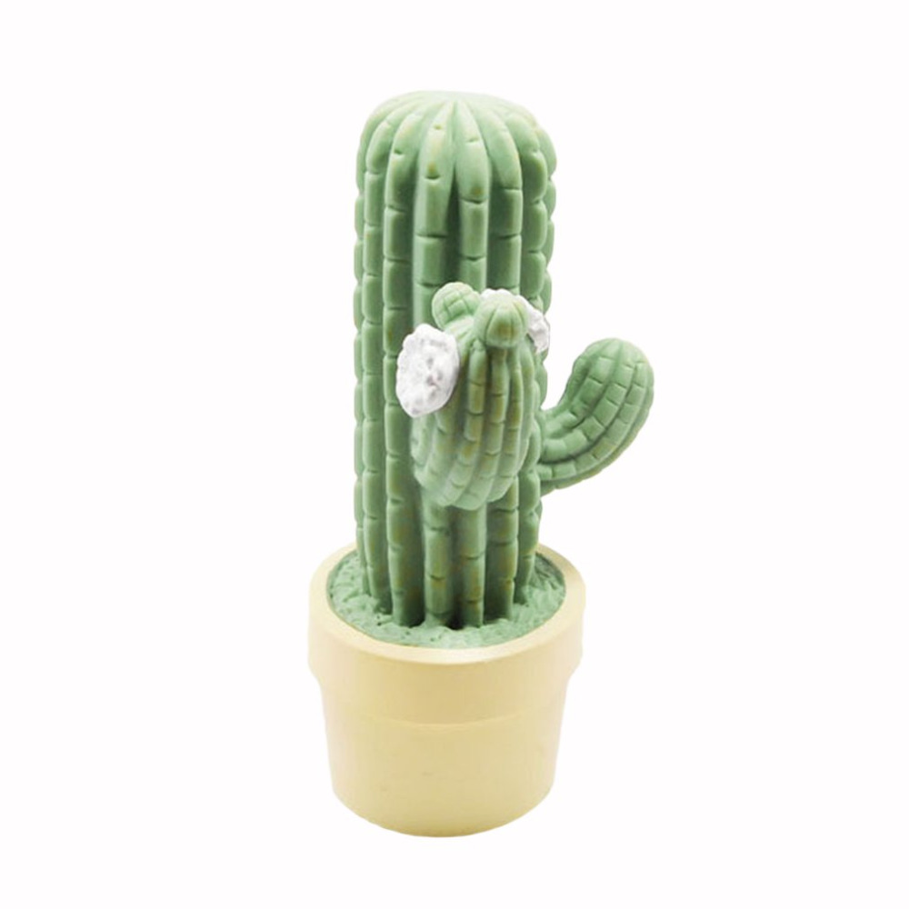 Innovative Green Cactus Led Night Light Children Led Lamps For Holiday Take Props Home Living Room Decoration Light