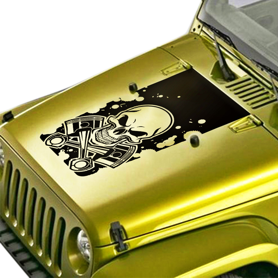 Car Sticker 1 Pcs Hoop Stripe Graphic Vinyl Car Accessories Decals Custom For Jeep Wrangler Rubicon Or Sport Or Sahar