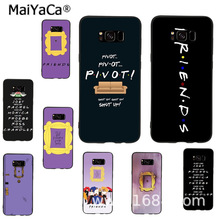 MaiYaCa Central Perk Coffee friends tv show how you doin door Phone Case for samsung galaxy s8 s9plus s7 s6 note8 note9 5 4 case to4rooms стол perk