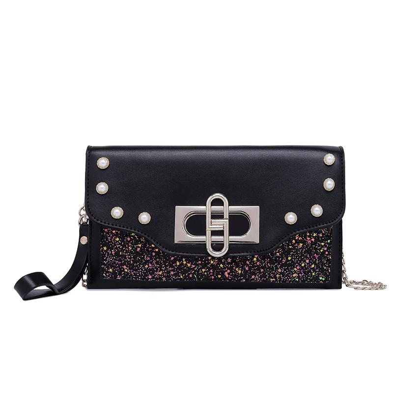 Glitter Sequin Handbag Shoulder Sparkling Clutch Bag Wallet Ladies luxury Handbags Women Bags Designer Crossbody Bags for Women in Shoulder Bags from Luggage Bags