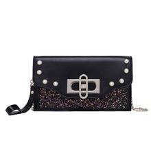 Glitter Sequin Handbag Shoulder Sparkling Clutch Bag Wallet Ladies luxury Handbags Women Bags Designer Crossbody for