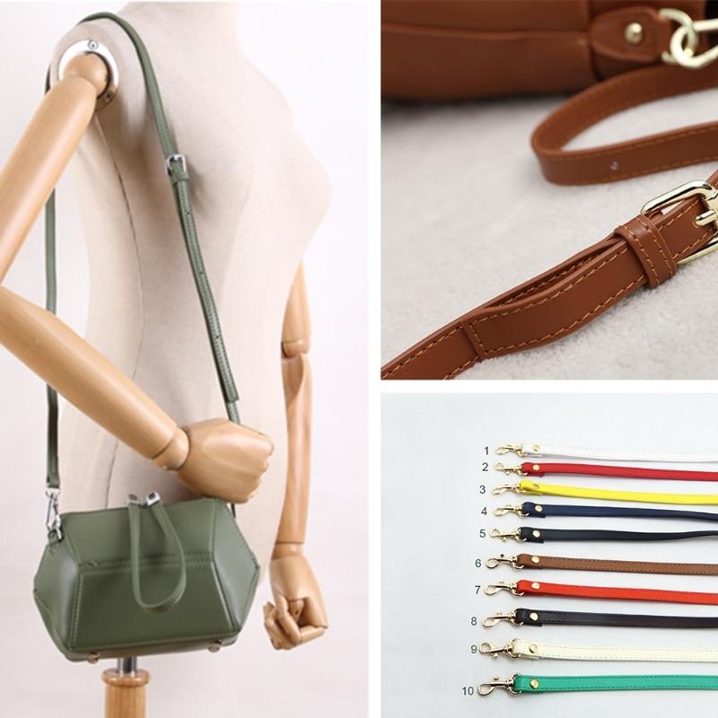 Women 120cm Bag Straps Shoulder Belts DIY Long Belts Leather Adjustable Handle Shoulder Straps Replacement Bag Accessories burgundy adjustable shoulder straps sleeveless lace lingerie sets