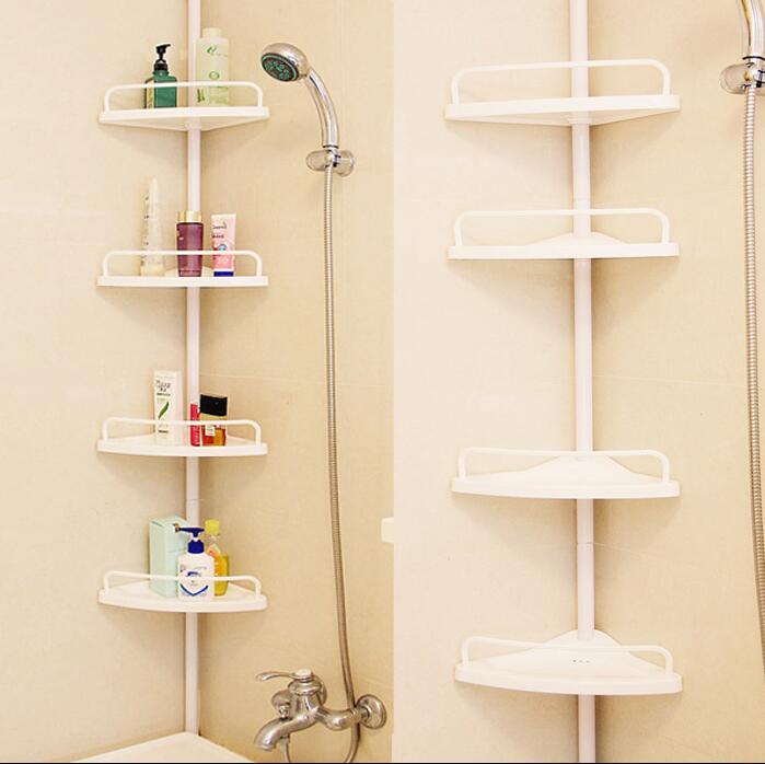 Marvelous Bathroom Organizer And Storage Corner Shelf French Landing Corner Rack  Couble Shelves Bathroom Holder(China