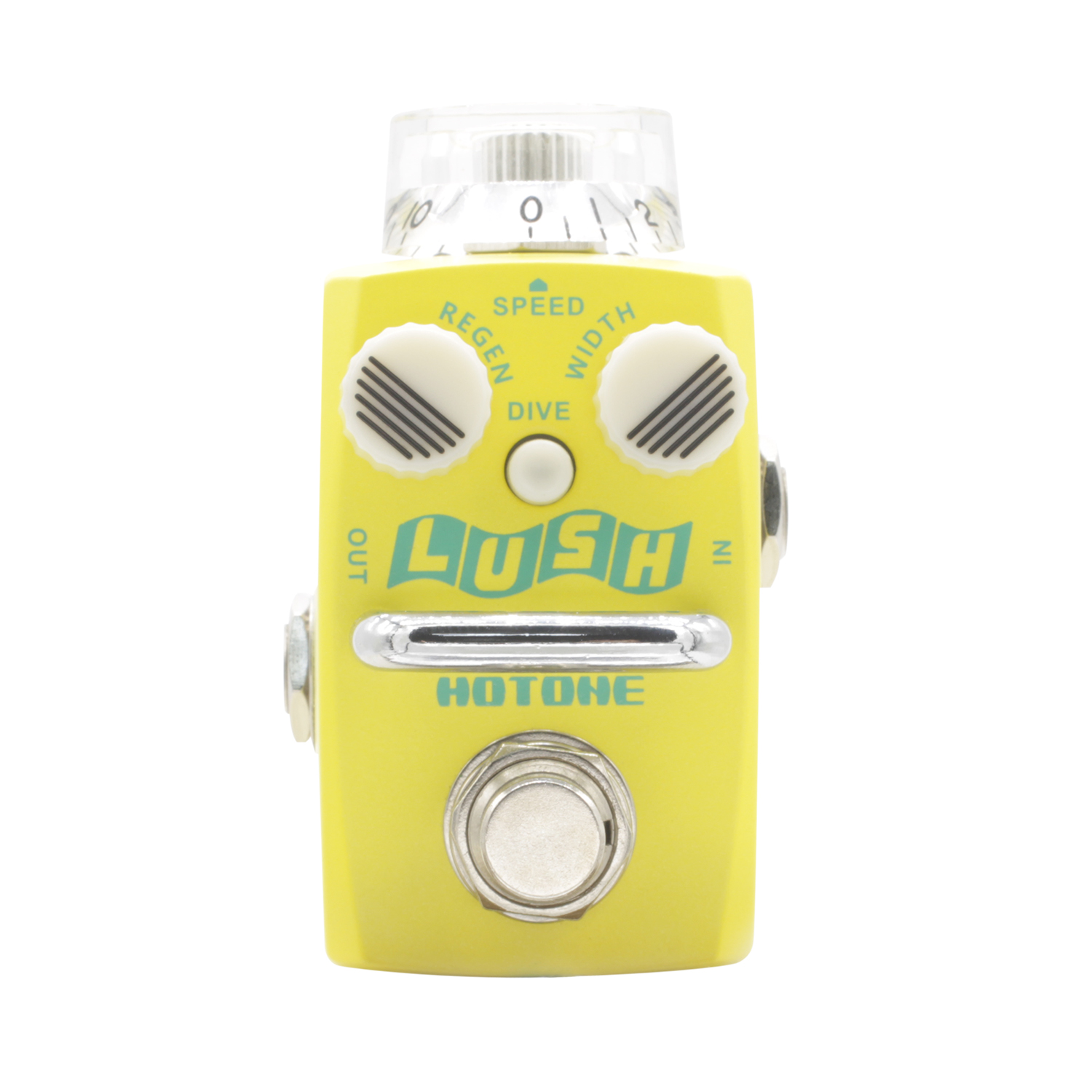 Hotone Lush Flanger Guitar Effect Pedal True Bypass Originally Achieved Effects for Electric Guitar Skyline Series mooer ensemble queen bass chorus effect pedal mini guitar effects true bypass with free connector and footswitch topper