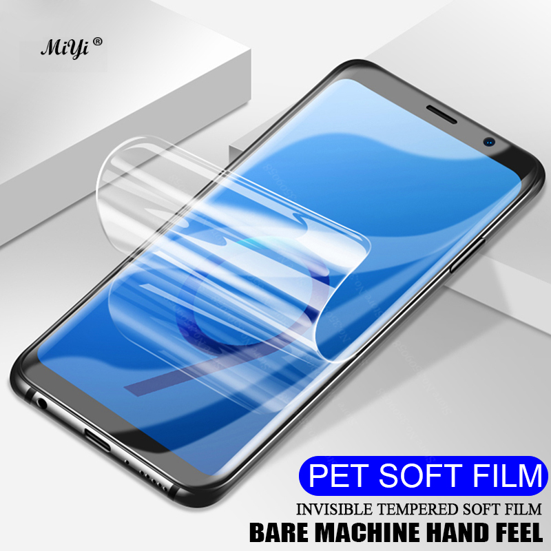 3D Curved PET Soft Film For Samsung Galaxy S8 S9 Plus S7 S6 Edge Plus Screen Protector S 6 7 8 9 Full Cover Film (Not Glass)