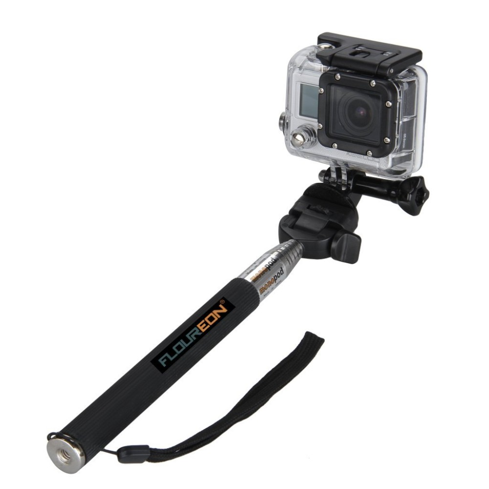Gopro Monopod Tripods Extendable Telescopic Handheld Pole