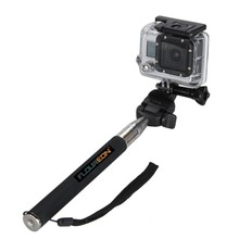Gopro Monopod Tripods Extendable Telescopic Handheld Pole Arm with Tripod Adapter for Gopro HD Hero 3+/3/2/1 Digital Camera