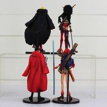 4 Figures set Sanji Nico Robin Roronoa Zoro Nami