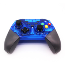 New Wireless Transparent Gamepad For PC Switch PRO Controller Bluetooth Joystick Game Controller For Nintend Switch Controller