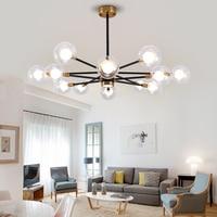 Nordic Modern Molecular Magic Bean Branch Pendant Lights Italian LED Hanging Lamp for Dining Room Kitchen living room Lighting