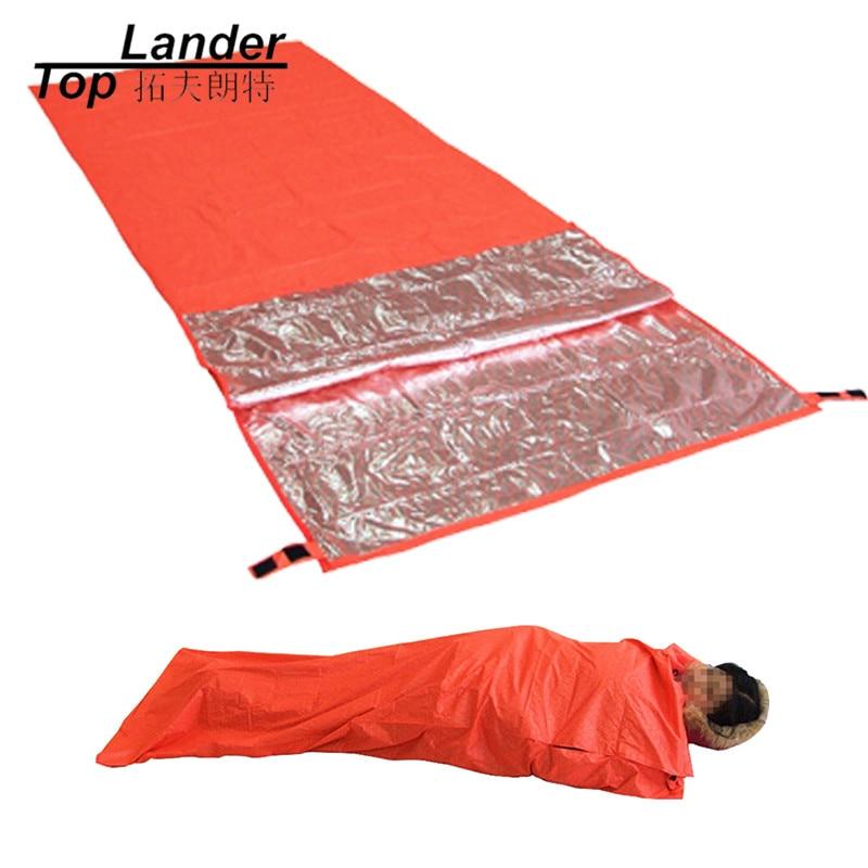 Ultralight Portable Survival Emergency Sleeping Bag Outdoor Camping Hiking Sleeping Bags Waterproof Warming Single Sleeping Bag