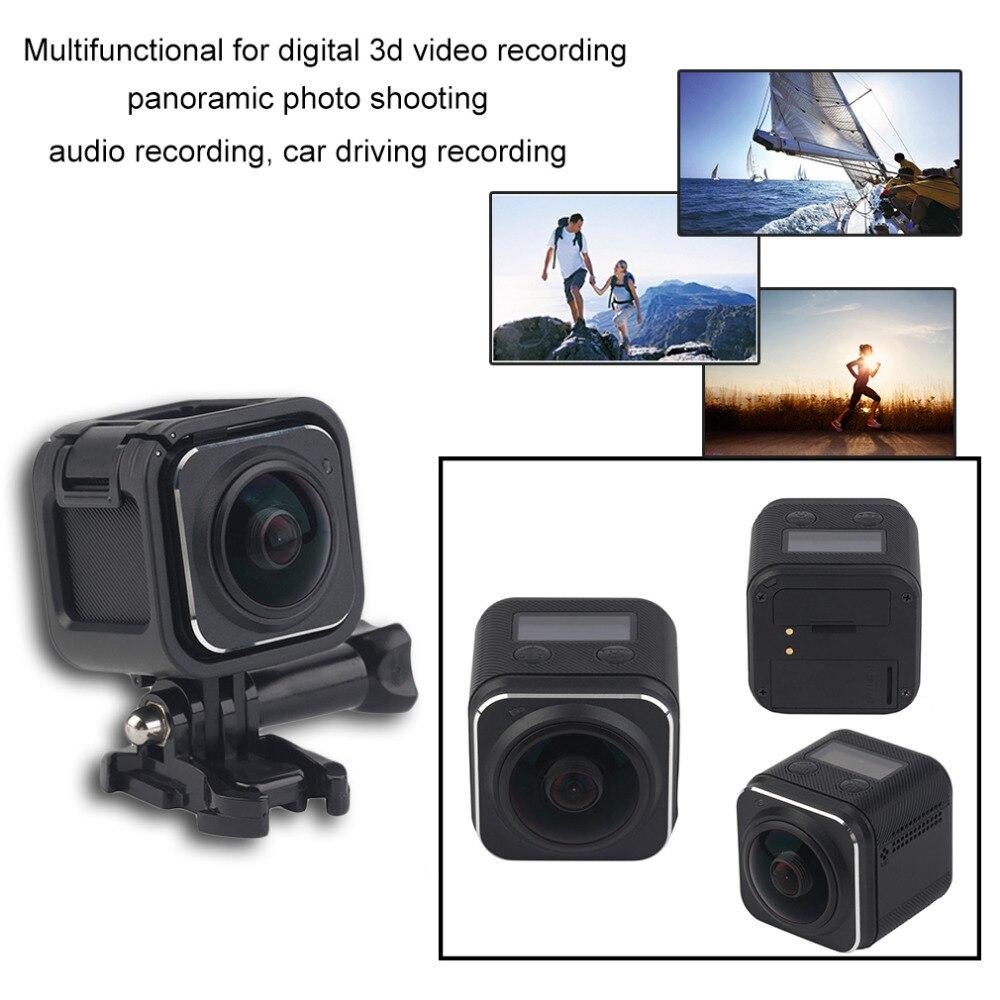 ФОТО 1 Sets SDW720 Multifunctional Single Path Panoramic 360 Camera Wifi Action HD Waterproof Sports Driving VR Camera Black