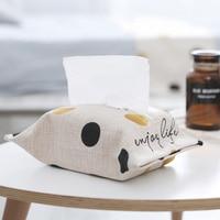 24CM * 18CM Handmade Cloth BagTissue Cover Cartoon Tissue Holder Creative Tissue Paper Towel Living Room Bathroom Paper box