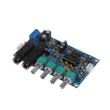 Double Puissance Microphone Amplificateur Conseil Son AMP Module Numérique Réverbération Plaque
