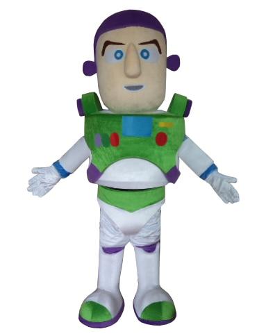 Hot Sale Brand New Buzz Lightyear Costume Mascot Costume Adult Size Fancy Dress Free shipping