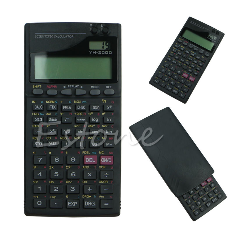 1 шт. 2.5 ЖК-дисплей Экран дисплея Портативный ручной 2000a научных Функция калькулятор высокое качество