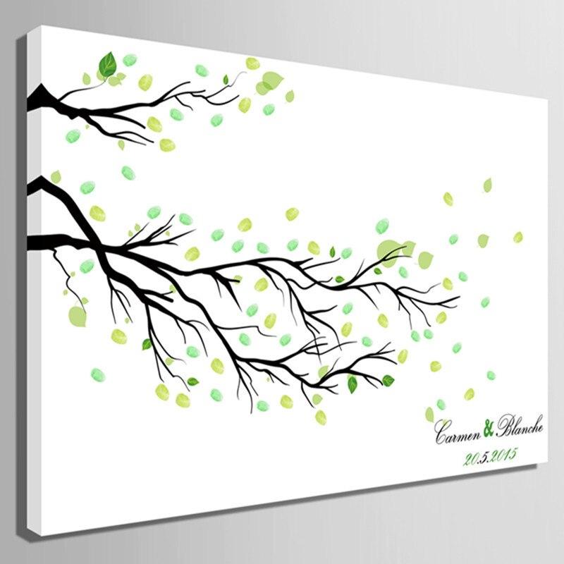 DIY Fingerprint Tree Poster Instant Download Square  |Diy Fingerprint Tree