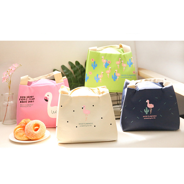 Portable Lunch Bags Handbag Tote Bag Picnic Food Storage Box Thermal Cooler Zip Carry Tote Insulated Tote Pouch Men Women Kids