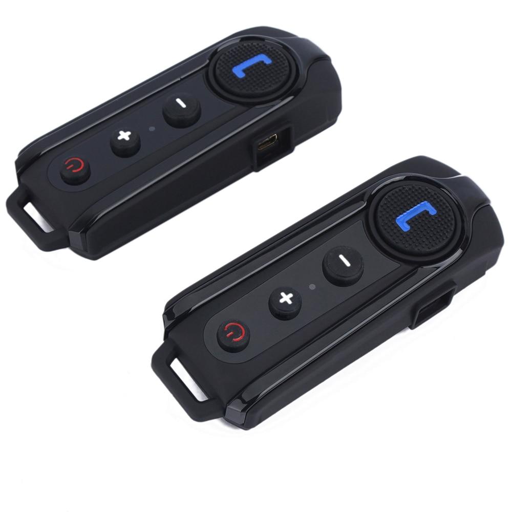 2 шт БТ-С1 Домофонных Bluetooth мотоцикл мотоцикл шлем Интерком-Гарнитура FM-радио